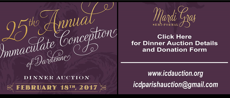 Dinner Auction 2017