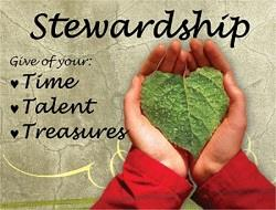 Stewardship: Time•Talent•Treasure